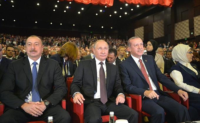 Image result for Putin Erdoğan Aliyev